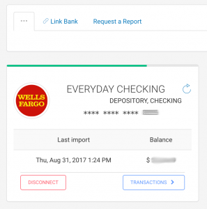 Bank Reconciliation for your everyday checking account