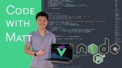 Code with Matt Node.JS