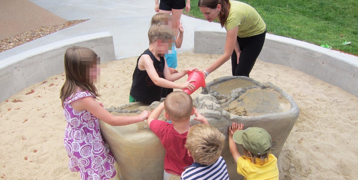 Sensory Lifestyle working with children