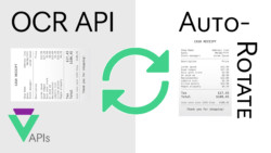 Auto-Rotate Receipts using Veryfi OCR API