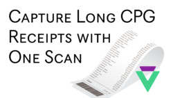 CPG Receipts Data Capture & OCR Data Extraction with One Snap
