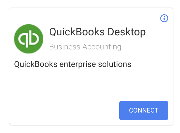 Veryfi's QuickBooks Desktop Card